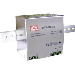 DIN-skena nätaggregat Mean Well DRP-240-24 24 V/DC 10 A 240 W 1 x