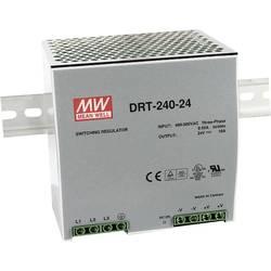 Napajalnik za namestitev na vodila (DIN letev) Mean Well DRT-240-48 48 V/DC 5 A 240 W 1 x