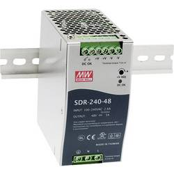 Napajalnik za namestitev na vodila (DIN letev) Mean Well SDR-240-48 48 V/DC 5 A 240 W 1 x