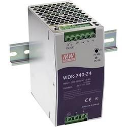 Napajalnik za namestitev na vodila (DIN letev) Mean Well WDR-240-48 48 V/DC 5 A 240 W 1 x