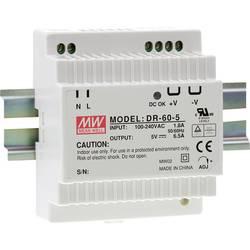 Napajalnik za namestitev na vodila (DIN letev) Mean Well DR-60-5 5 V/DC 6.5 A 32 W 1 x
