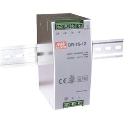 Napajalnik za namestitev na vodila (DIN letev) Mean Well DR-75-48 48 V/DC 1.6 A 76.8 W 1 x