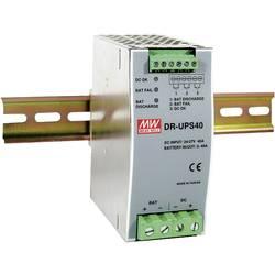 DIN-skena nätaggregat Mean Well DR-UPS40 24 V/DC 2 A