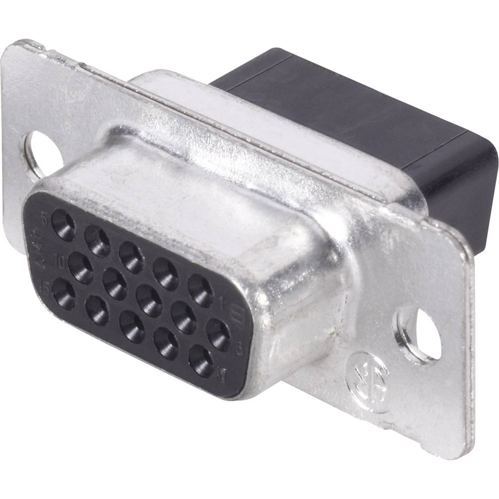 D-SUB vtičnica, število polov: 44 z objemkami TE Connectivity AMPLIMITE HD-22 1 kos