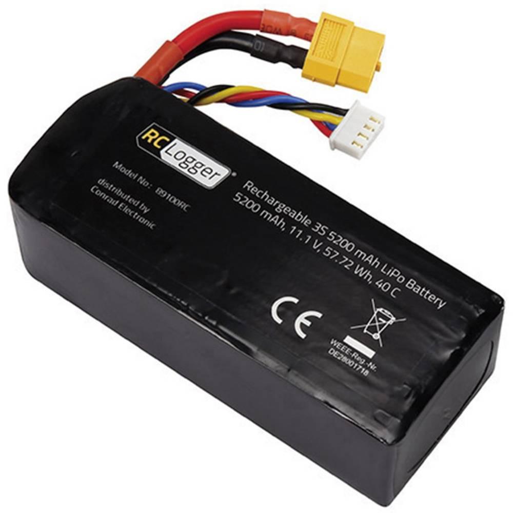 Baterija za modele Stick XT60 RC Logger (LiPo) 11.1 V 5200 mAh