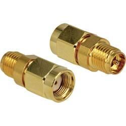 WLAN antenski priključni kabel [1x RP-SMA utikač - 1x RP-SMA ženski utikač] Delock 0 m zlatna