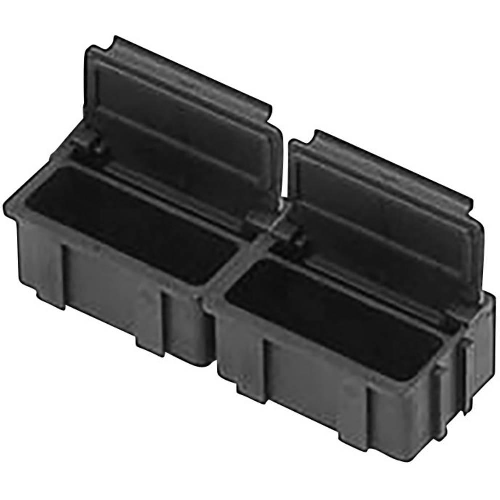 ESD-SMD škatla (D x Š x V) 37 x 12 x 15 mm prevodna Bernstein 9-322/10