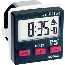 Stikalna ura za vodila, digitalna Müller TC 14.21 230 V/AC 8 A/230 V