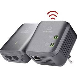 Powerline WLAN Starter Kit Renkforce PL500D WiFi 500 Mbit/s