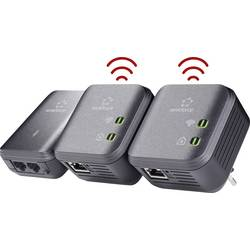 Powerline WLAN Network Kit Renkforce PL500D WiFi 500 Mbit/s