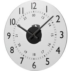 Zidni kvarčni sat Renkforce W784P-NP 30.5 cm x 3.5 cm bijele boje