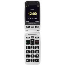 Mobilni telefon za starejše,Primo by Doro 413 ,z velikimi tipkami,srebrn