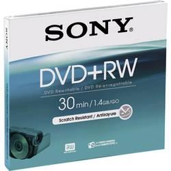 Mini DVD+RW diski 1.46 GB Sony DPW30A 1 kos Jewelcase, ponovno zapisljivi