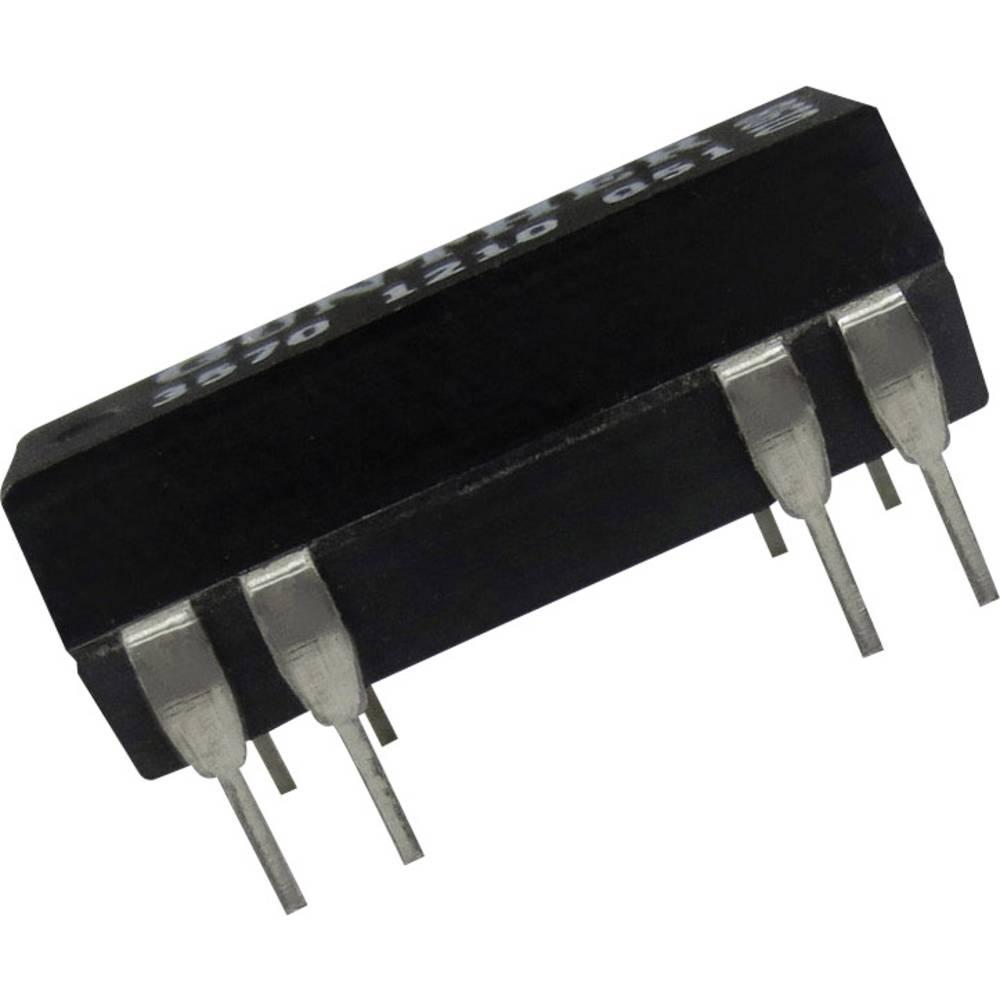 Reed-relæ 2 x sluttekontakt 24 V/DC 0.5 A 10 W DIP-14 Comus 3572-1220-241