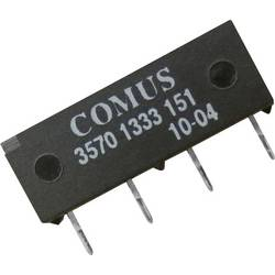 Reed-Relais (value.1292911) 1 Schließer (value.1345270) 5 V/DC 0.5 A 10 W SIP-4 Comus 3570-1333-053