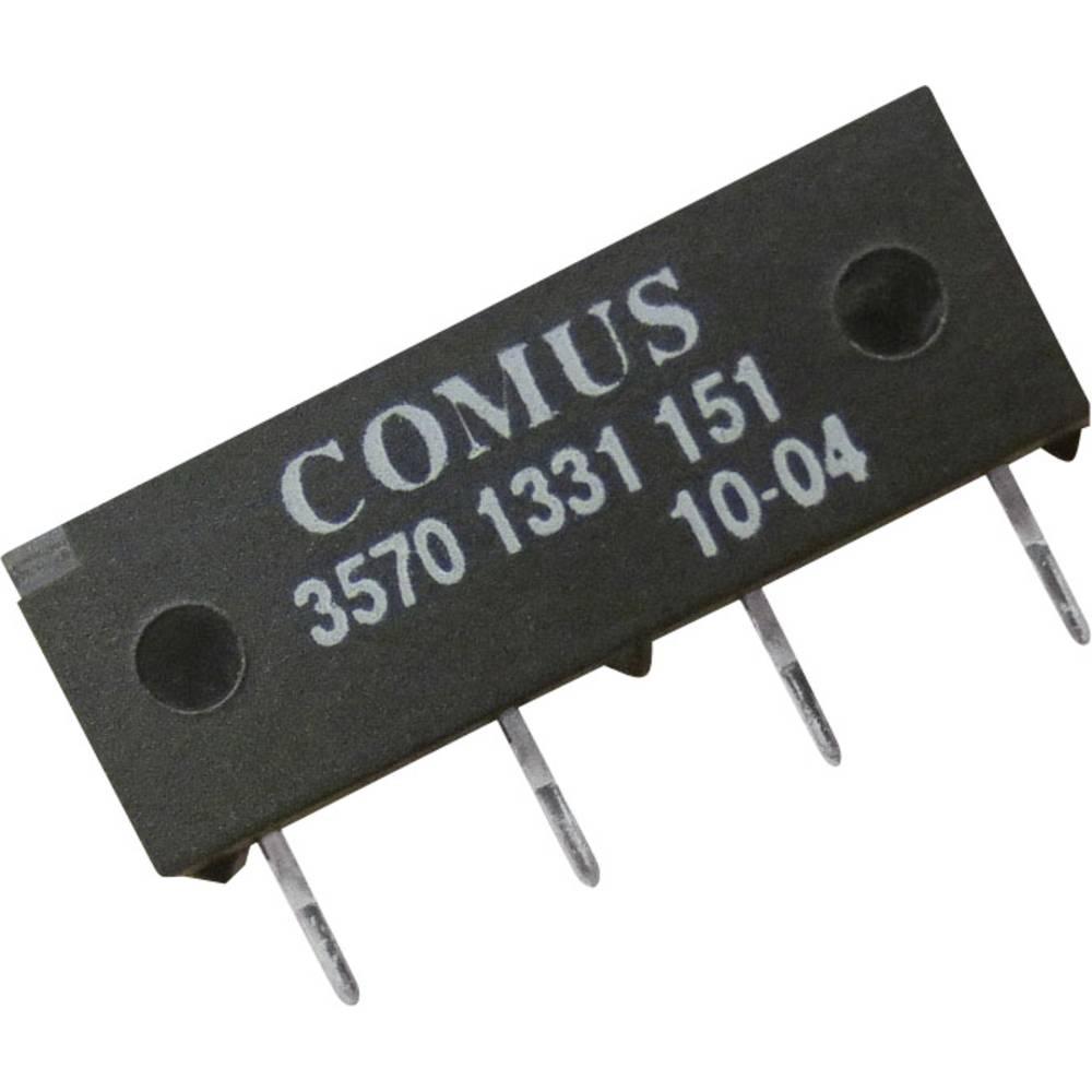 Reed-Relais (value.1292911) 1 Schließer (value.1345270) 12 V/DC 0.5 A 10 W SIP-4 Comus 3570-1331-121