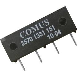 Reed-Relais (value.1292911) 1 Schließer (value.1345270) 12 V/DC 0.5 A 10 W SIP-4 Comus 3570-1331-121