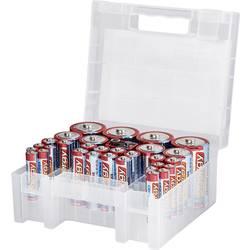 Conrad energy Batteri-set R03 (AAA), R6 (AA), R14 (C), R20 (D), 9 V-blockbatteri 31 st inkl. Box