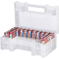 Conrad energy Batteri-set R03 (AAA), R6 (AA) 34 st inkl. Box