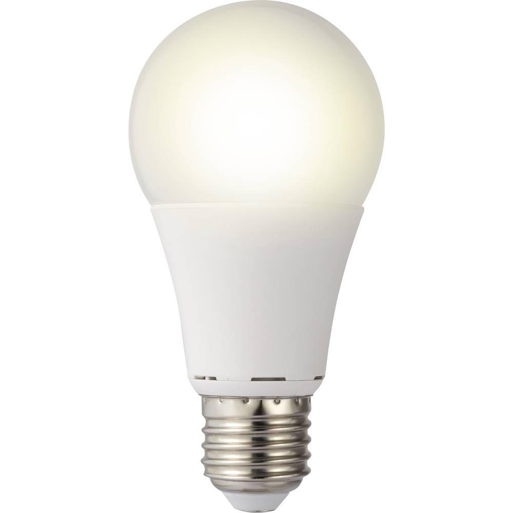 LED žarnica E27 klasična oblika 9.5 W = 60 W topla bela (premer x D) 60 mm x 119 mm EEK: A+ Sygonix 1 kos