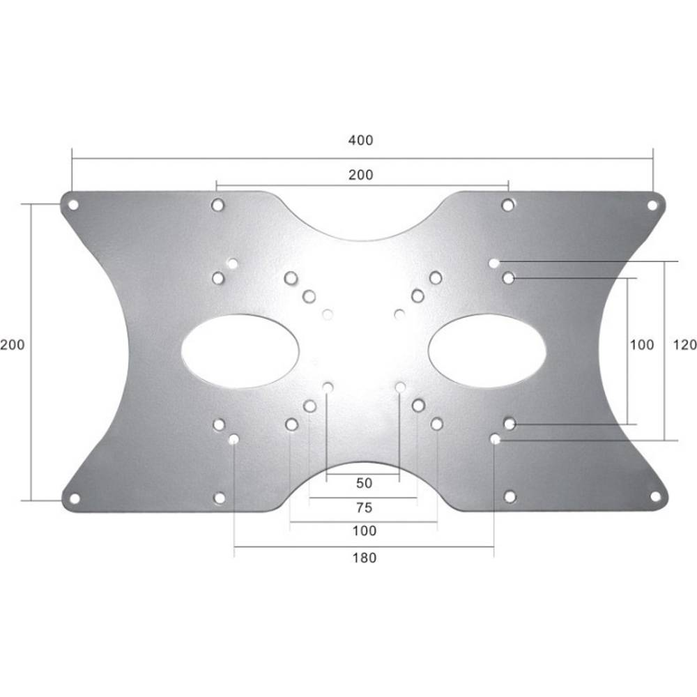 NewStar vesa adapter Pogodno za seriju: univerzalni srebrna