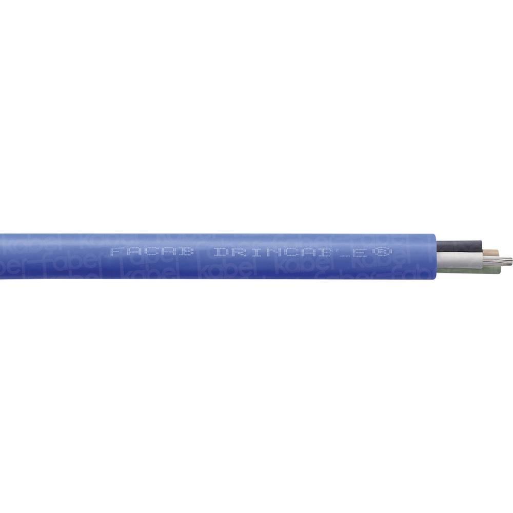 Kabel za krmiljenje motorjev 3 x 1.5 mm modre barve Faber Kabel 050562 metrsko blago