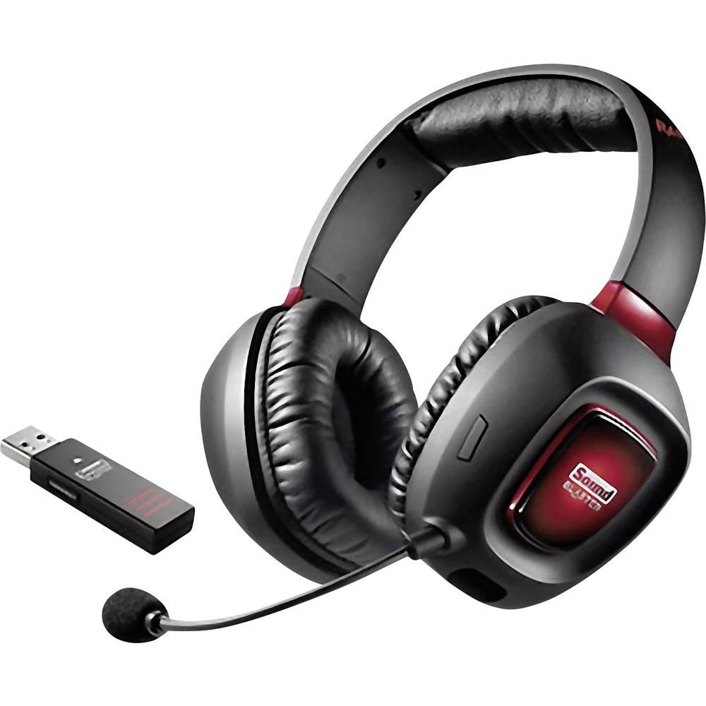 Slušalice s mikrofonom za igranje Creative Sound Blaster Tactic3D Wireless V2.0 za PC / PS4