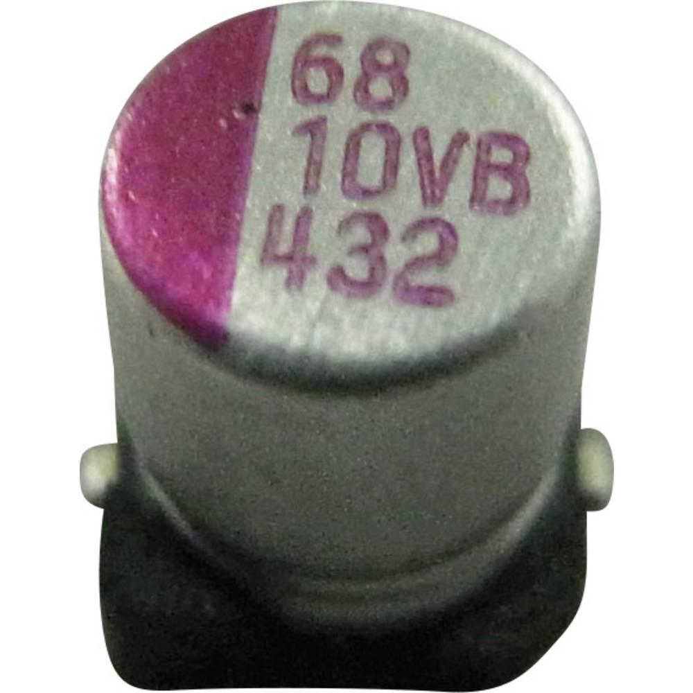 Elektrolitski kondenzator SMD 1200 µF 6.3 V/DC 10 % (promjer x V) 10 mm x 10 mm PVB128M6R3S0ANHA5K 1 kom.