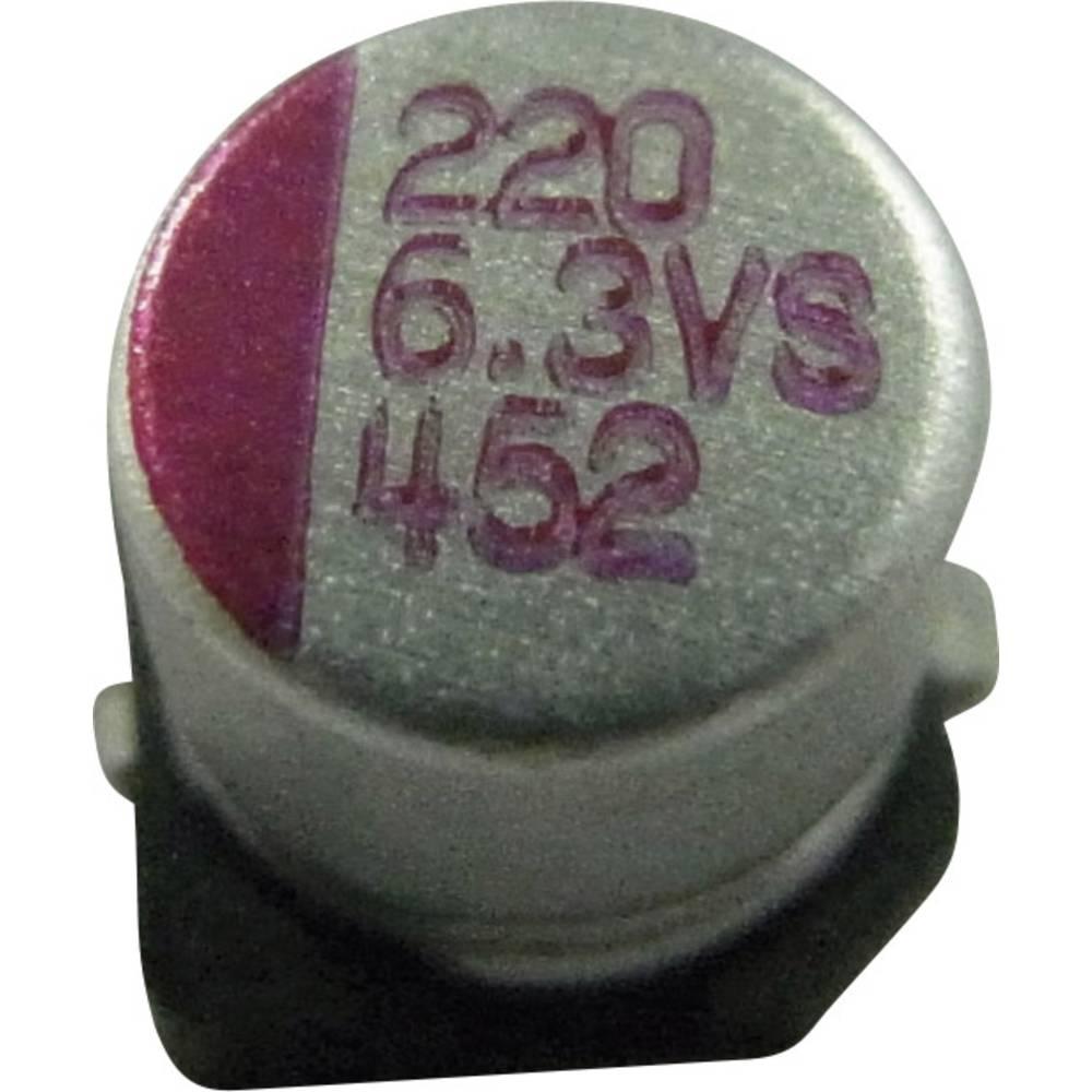 Elektrolitski kondenzator SMD 68 µF 16 V/DC 10 % (promjer x V) 6.3 mm x 5.8 mm PVS686M016S0ANEA4K 1 kom.