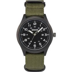 analog Armbandsur Eurochron Quarz Armbanduhr EQAU 2701 Rostfritt stål Antracit