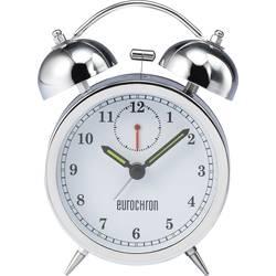 Kvarts Väckarklocka Eurochron EQWG 53 Silver Larmtider 1