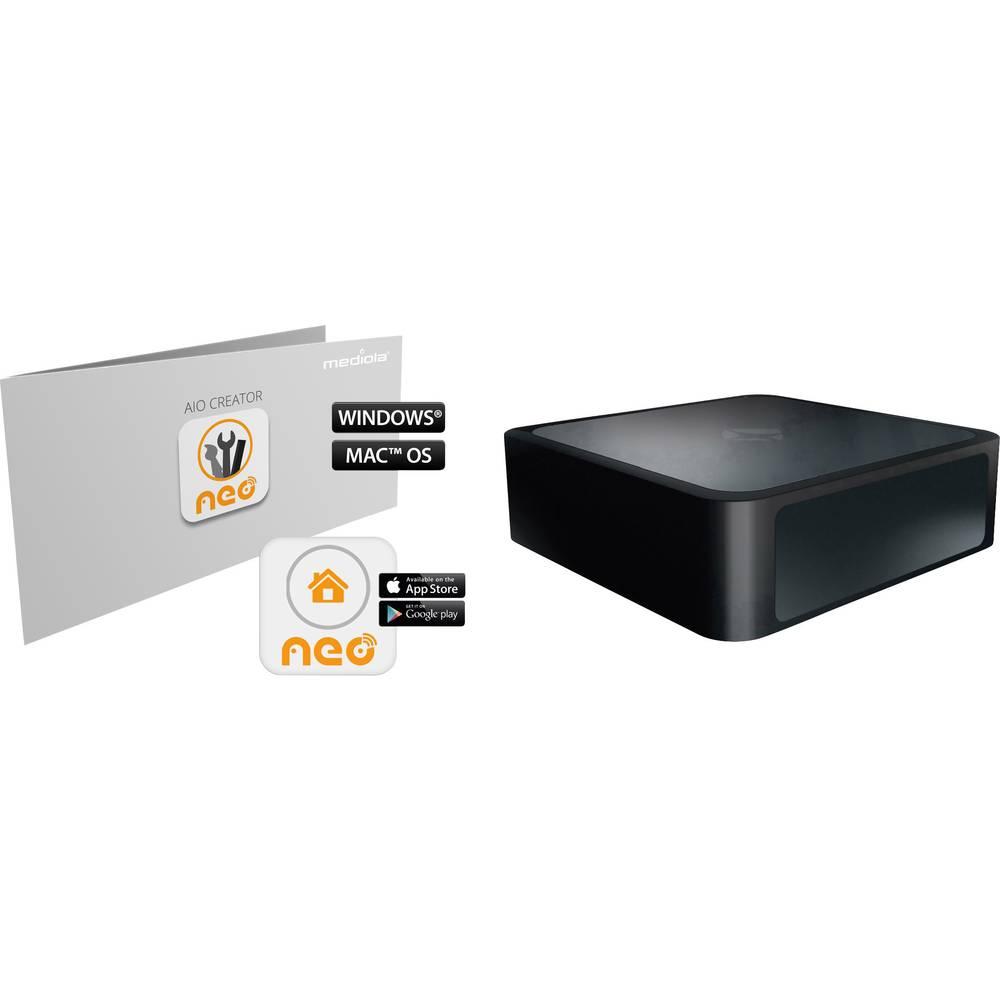 Mediola Gateway V4 z dodatno programsko opremo