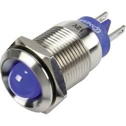 LED signalna lučka, modre barve 12 V TRU Components GQ16B-D/J/B/12V/S
