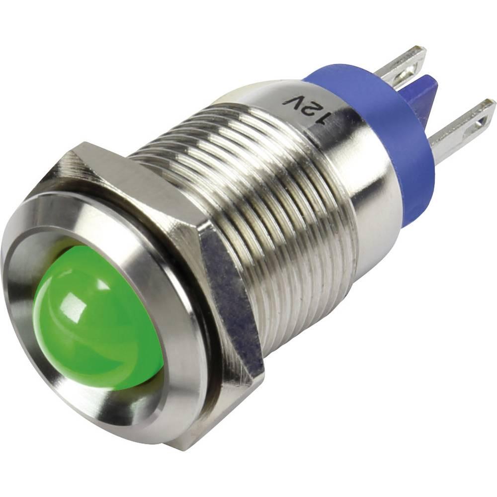 LED-Signalleuchte (value.1317401) TRU COMPONENTS 1302125 12 V/DC 15 mA Grøn