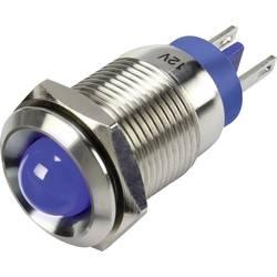LED signalna lučka, modre barve 12 V TRU Components GQ16B-D/J/B/12V/N