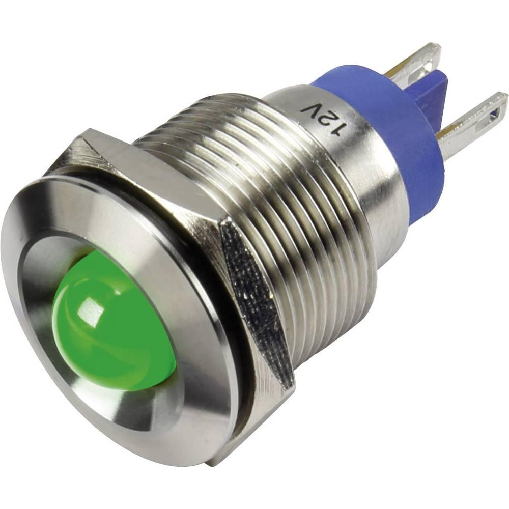LED-Signalleuchte (value.1317401) TRU COMPONENTS 1302149 12 V/DC 15 mA Grøn