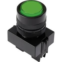 LED signalna lučka, zelene barve 12 V TRU Components Y090E-DS/G/12V