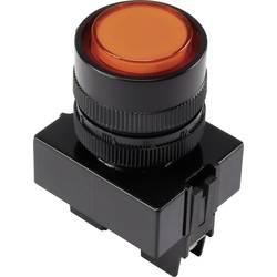 LED signalna lučka, oranžne barve 12 V TRU Components Y090E-DS/O/12V