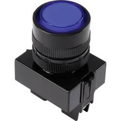 LED signalna lučka, modre barve 12 V TRU Components Y090E-DS/B/12V