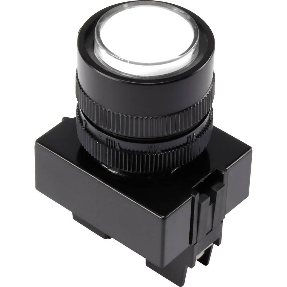 LED-signallampe TRU COMPONENTS 1302161 12 V/DC 20 mA Hvid