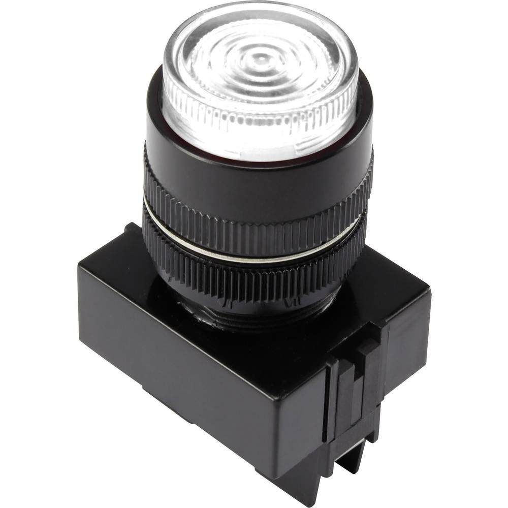 LED-Signalleuchte (value.1317401) TRU COMPONENTS 1302166 12 V/DC 20 mA Hvid