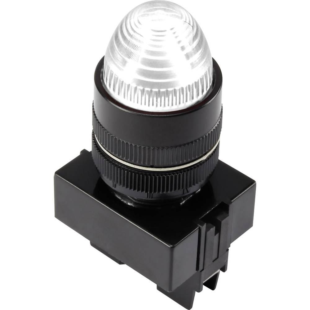 LED-Signalleuchte (value.1317401) TRU COMPONENTS 1302171 12 V/DC 20 mA Hvid