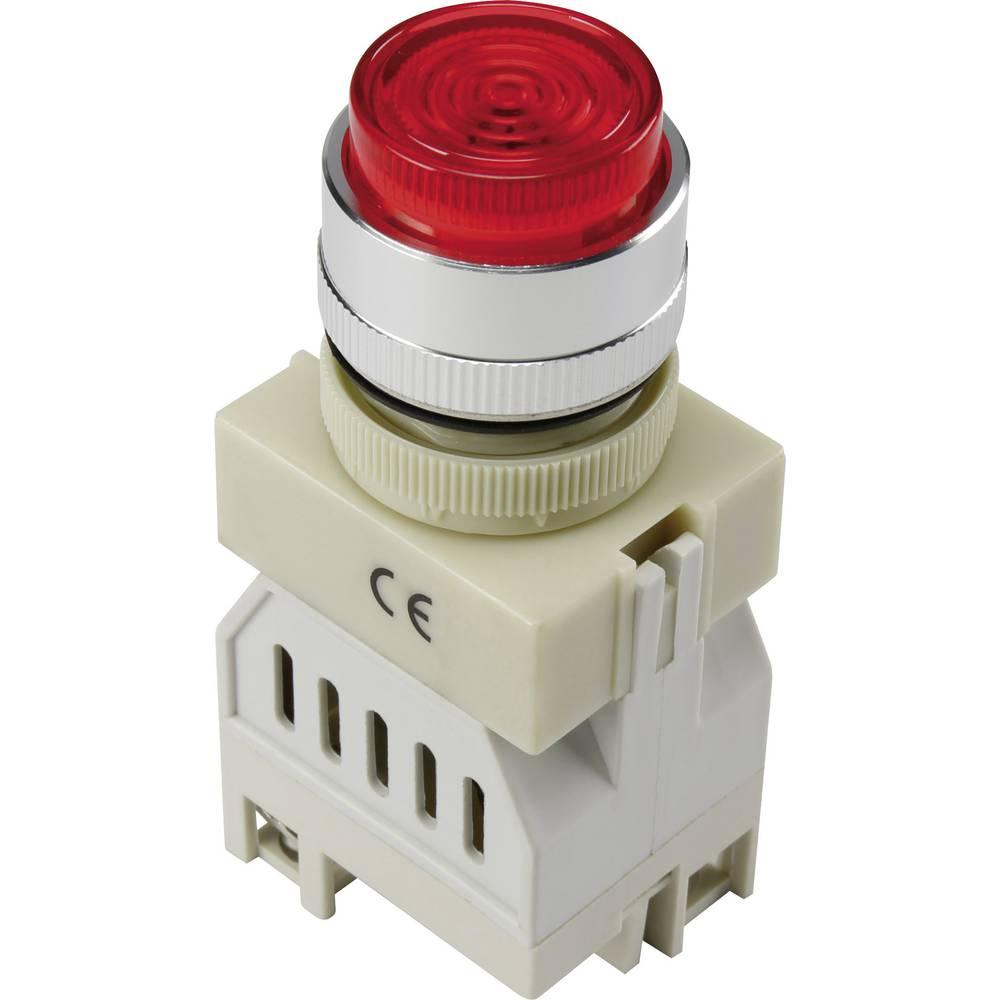 LED-Signalleuchte (value.1317401) TRU COMPONENTS Y090-S/24V 24 V/DC 20 mA Rød
