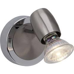 Stenska svetilka GU10 2.5 W LED Brilliant Wesley G54810/77 železo, krom