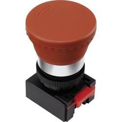 Stikalo za zaustavitev v sili, rdeče barve, rdeče barveacijsko TRU Components LAS0-K-TSB 1 kos