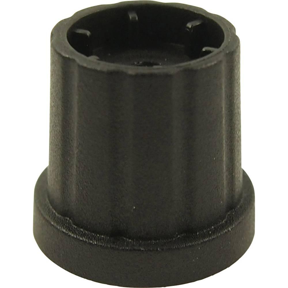 Vrtljivi gumb, črna ( x H) 19.3 mm x 19.2 mm Cliff CL178882 1 kos