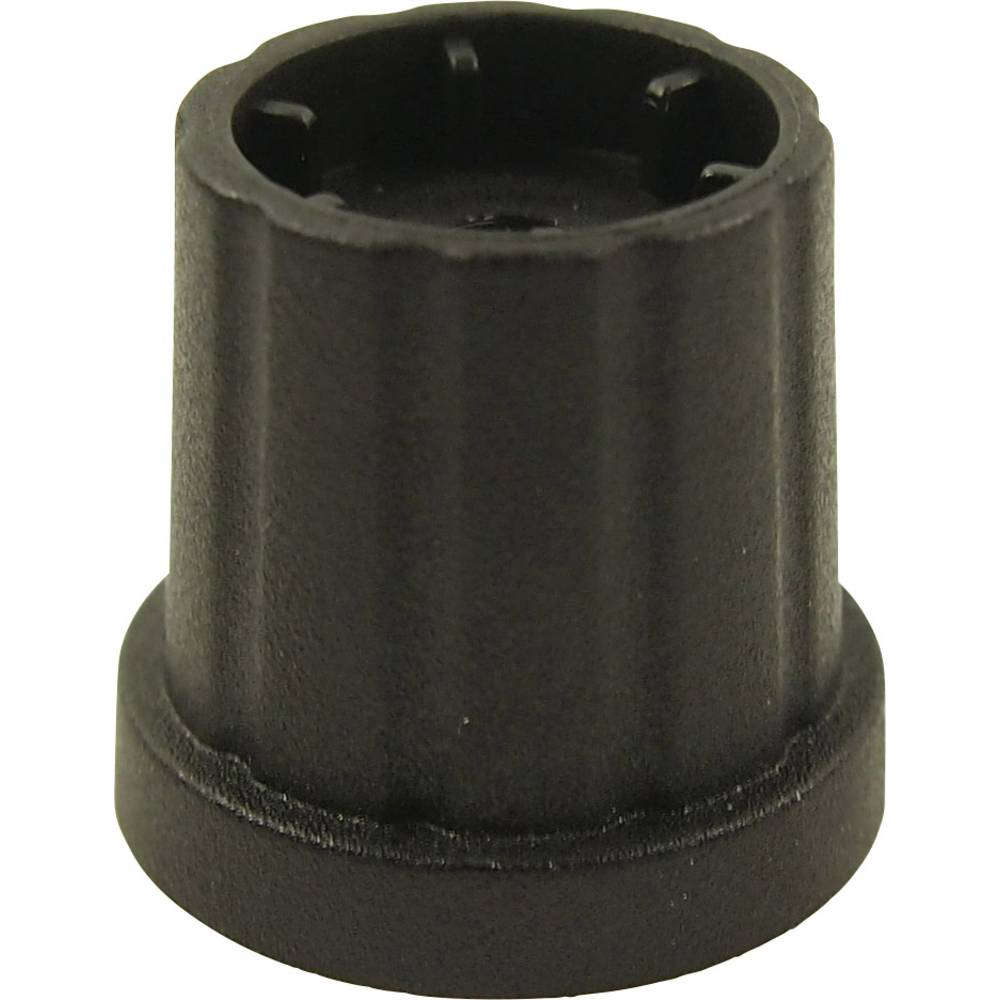 Vrtljivo dugme, crno (promjer x V) 19.3 mm x 19.2 mm Cliff CL178882 1 kom.