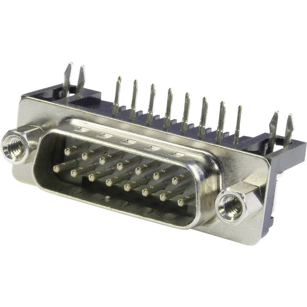 D-SUB pinska letev 90 ° število polov: 9 s spajkalnimi pini econ connect ST9WB/7 1 kos