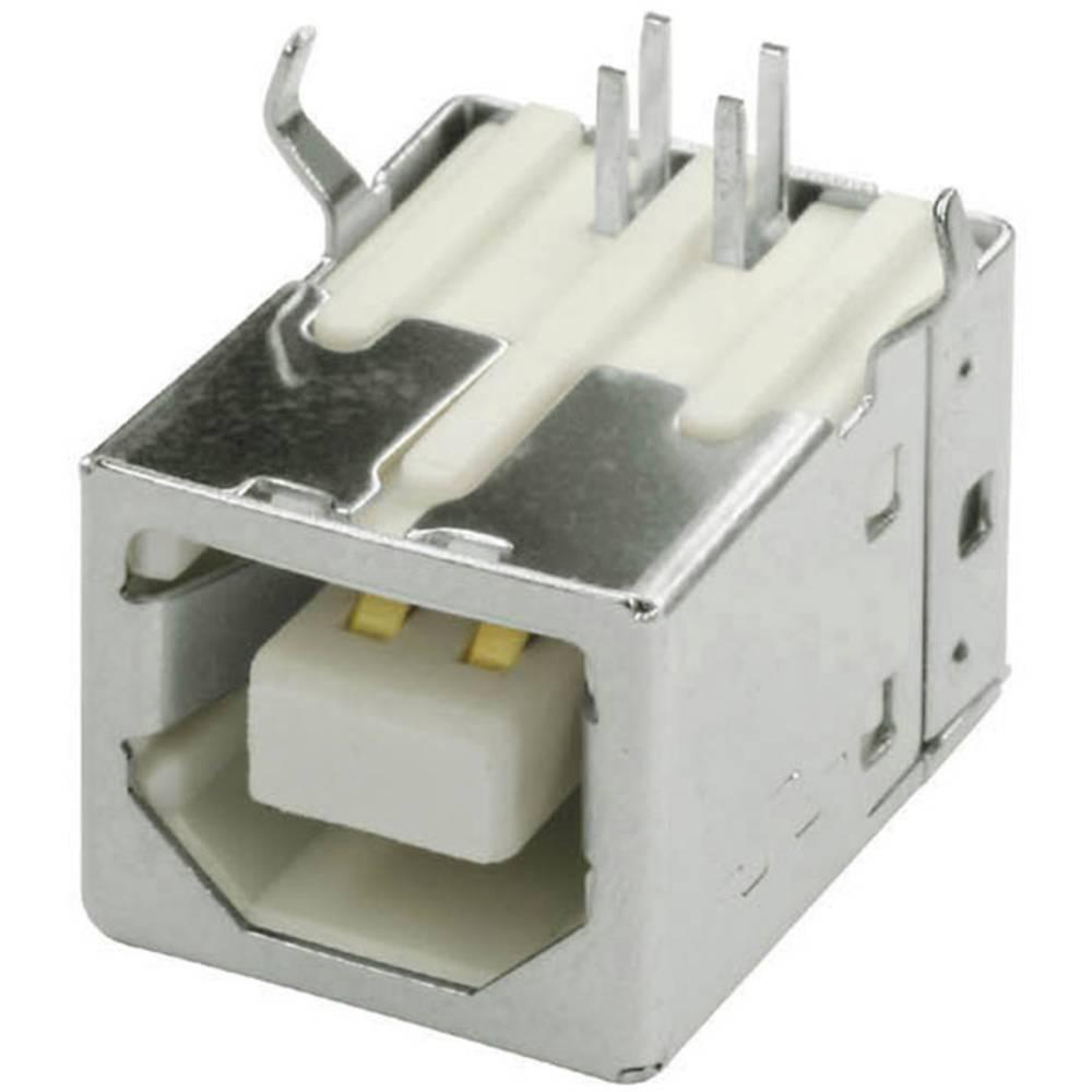 USB-B-tiskalna vtičnica, vgradna, horizontalna USB/BU1B econ connect vsebuje: 1 kos