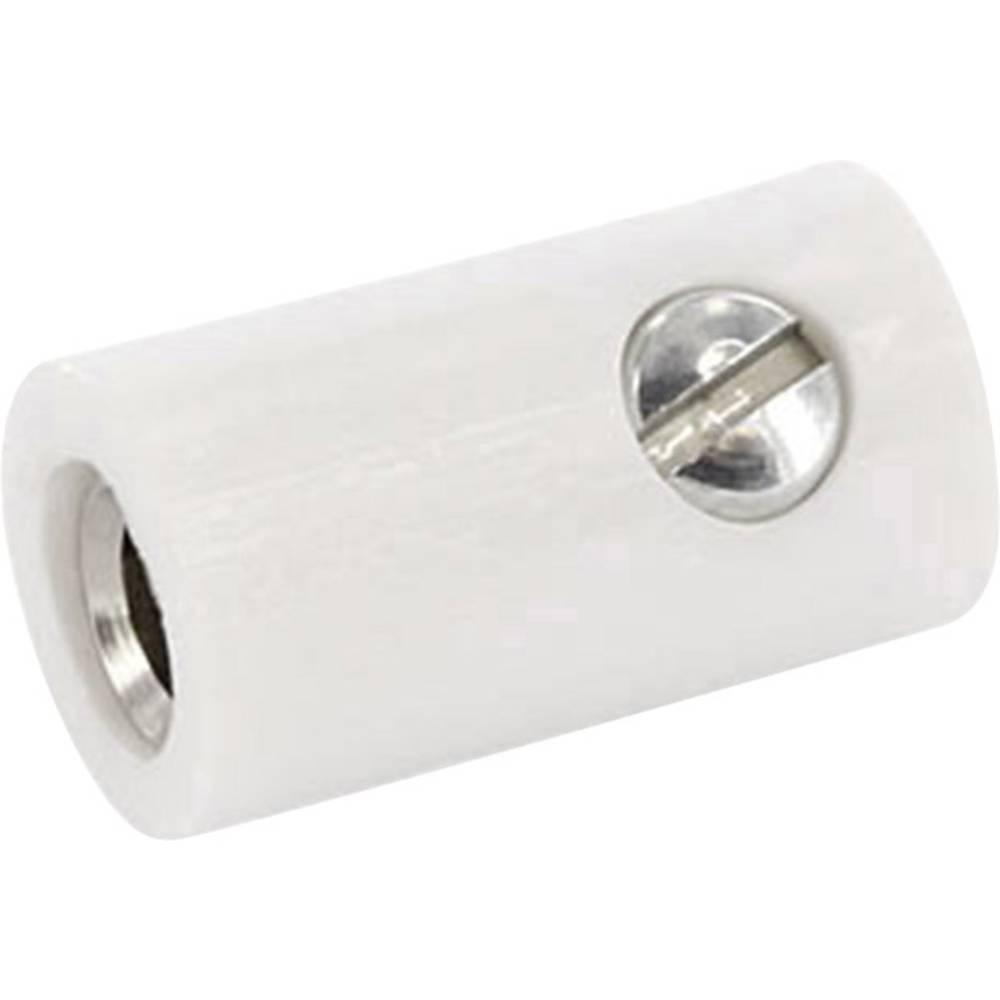 Laboratoriestik Kobling, lige econ connect HOKWS 2.6 mm Hvid 1 stk